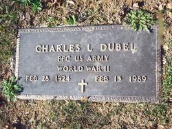 PFC Charles L Dubel
