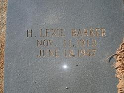 H Lexie Barker