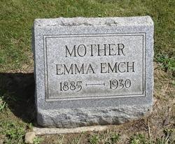 Emma <i>Widner</i> Emch