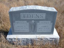 Mary E. <i>Church</i> Edens