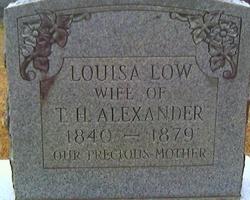 Louisa <i>Low</i> Alexander