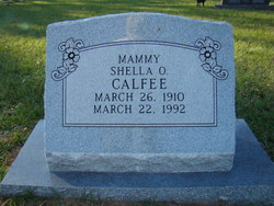 Shella Lee <i>Owens</i> Calfee