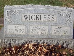 F Leo Wickless