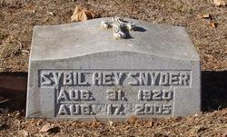 Sybil Hey Snyder