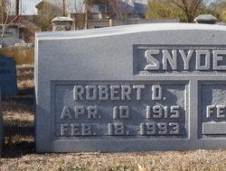 Robert D. Snyder