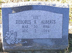 Dolores K Loy <i>Hull</i> Alberts
