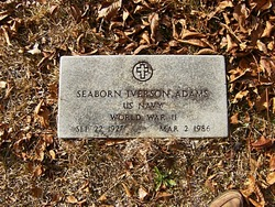 Seaborn Iverson Adams