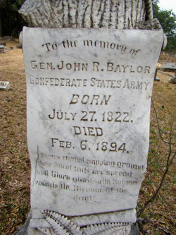 Gen John Robert Baylor