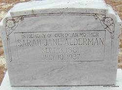 Sarah Jane Alderman