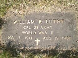 William R Bud Luthe