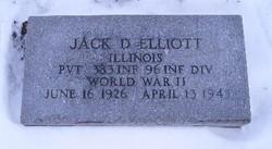 Pvt Jack Dwight Elliott