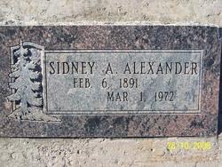 Sidney Adelbert Del Alexander