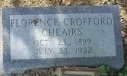 Florence E. <i>Crofford</i> Cheairs