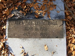 Vira Lee <i>Lewis</i> Hall