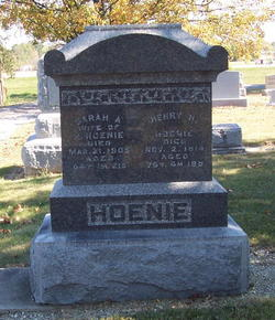 Henry H Hoenie