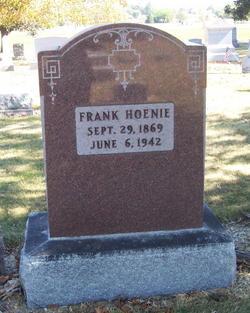 Franklin Frank Hoenie