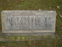 Julia <i>Peters</i> Blacker