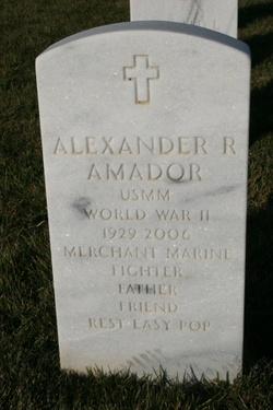 Alexander Rudolph Amador, Sr