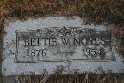 Bettie Williams <i>Hershberger</i> Noyes