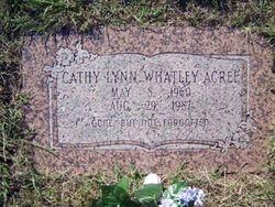 Cathy Lynn <i>Whatley</i> Acree