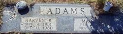 Harvey R Adams