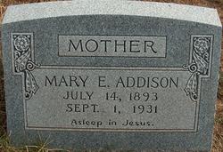 Mary E. Addison
