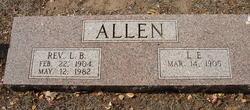 Rev L. B. Allen