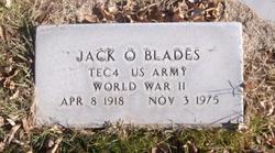 Jack Orval Blades