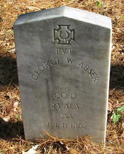 Pvt George W. Abser