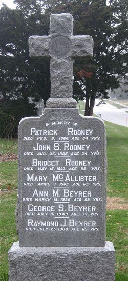 Ann Maria <i>Rooney</i> Beyrer
