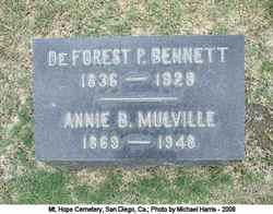 DeForest P Bennett