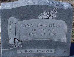 Ann Fatchett