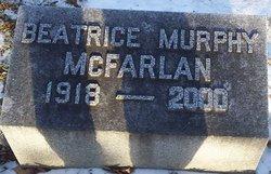 Beatrice Ann Bee <i>Murphy</i> McFarlan