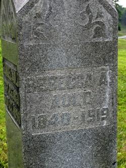 Rebecca A. <i>Burns</i> Auld