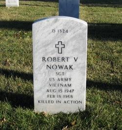 Sgt Robert Virgil Nowak