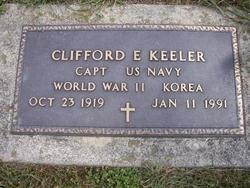 Clifford E Keeler