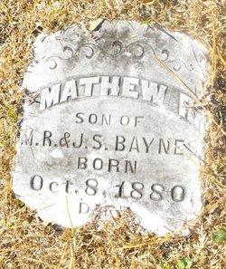 Mathew R Baynes