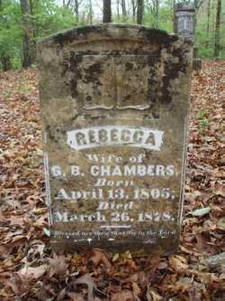 Rebecca <i>Gordon</i> Chambers