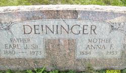 Earl J Deininger, Sr