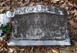 Lucy Rachel <i>Dyer</i> Curtis