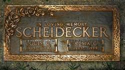 Alma Gertrude <i>Shelley</i> Scheidecker