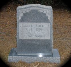 Jeanette <i>Jackson</i> Bethea