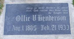 Ollie Victoria <i>McClurg</i> Henderson
