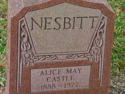 Alice May <i>Castle</i> Nesbitt