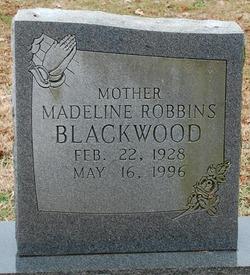 Madeline <i>Robbins</i> Blackwood