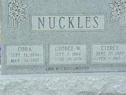 Cora Elizabeth <i>McFaddin</i> Nuckles