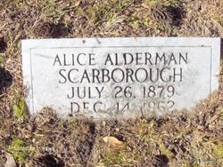Alice <i>Alderman</i> Scarborough