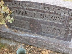 Albert Francis Brown