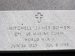 Corp Mitchell James Jim Bowen, I