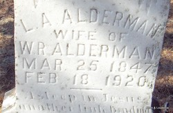 Lucrecia A. <i>Douglass</i> Alderman